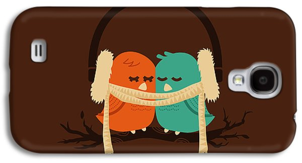 Winter Digital Art Galaxy S4 Cases - Baby it is cold outside Galaxy S4 Case by Budi Satria Kwan