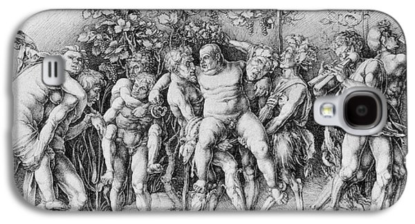 Bacchanal With Silenus - Albrecht Durer Galaxy S4 Case by Daniel Hagerman