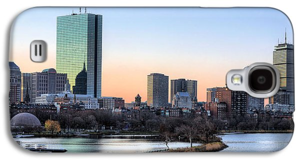Best Sellers -  - Landmarks Photographs Galaxy S4 Cases - Back Bay Sunrise Galaxy S4 Case by JC Findley