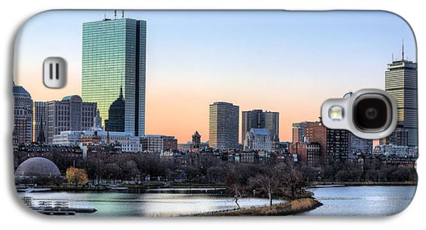 Back Bay Sunrise Galaxy S4 Case by JC Findley