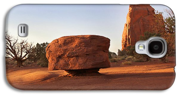 Monument Galaxy S4 Cases - Back Roads at Monument Valley Galaxy S4 Case by Mike McGlothlen