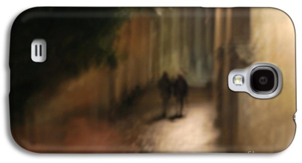 Light Galaxy S4 Cases - Back Street Of Barcelona Cathedral Galaxy S4 Case by Erhan OZBIYIK