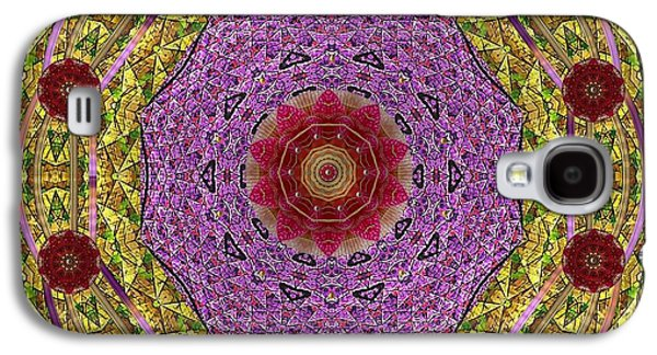 Contemplative Mixed Media Galaxy S4 Cases - Back To Innocence Galaxy S4 Case by Pepita Selles