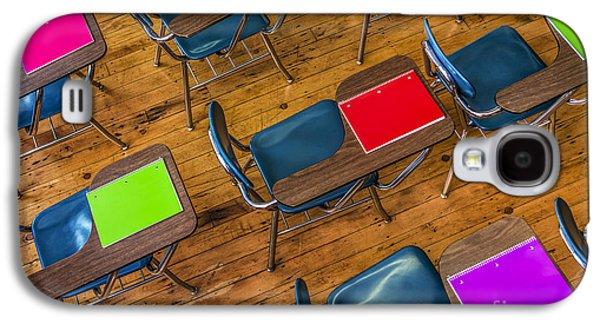 Schools Galaxy S4 Cases - Back to School Galaxy S4 Case by Diane Diederich