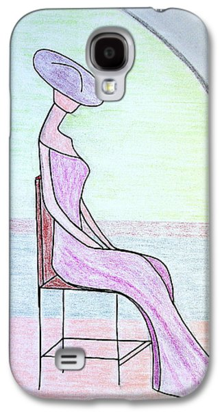 Chair Pastels Galaxy S4 Cases - Backstage on Broadway Galaxy S4 Case by Bill OConnor