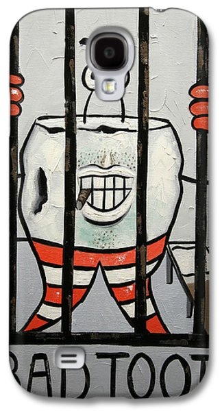 Greeting Digital Art Galaxy S4 Cases - Bad Tooth Galaxy S4 Case by Anthony Falbo