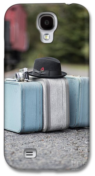 Caboose Photographs Galaxy S4 Cases - Bags all packed ready to go Galaxy S4 Case by Edward Fielding