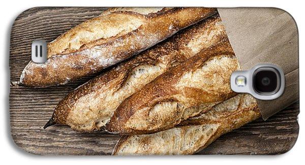 Artisan Galaxy S4 Cases - Baguettes bread Galaxy S4 Case by Elena Elisseeva