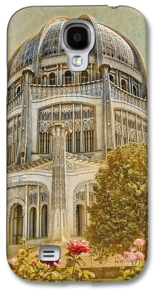 Business Galaxy S4 Cases - Bahai  Temple in Wilmette Galaxy S4 Case by Rudy Umans