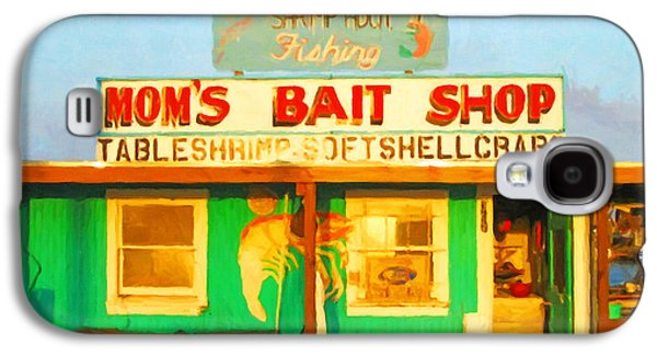 Old Town Digital Art Galaxy S4 Cases - Bait Shop 20130309-1 Galaxy S4 Case by Wingsdomain Art and Photography