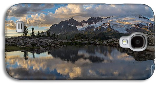 Mountain View Galaxy S4 Cases - Baker Dusk Cloudscape Galaxy S4 Case by Mike Reid