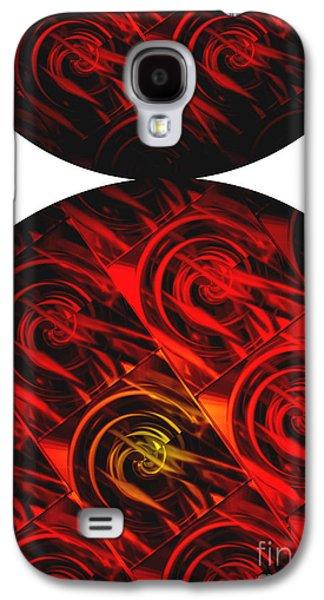 Abstract Digital Digital Art Galaxy S4 Cases - Balance Galaxy S4 Case by Ann Powell