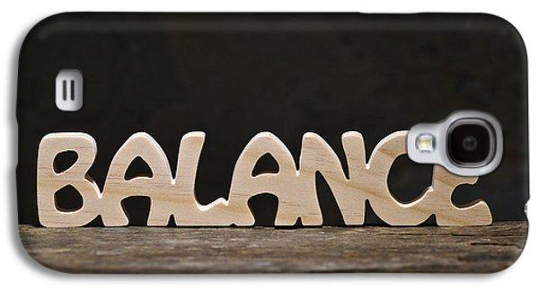 Positive Attitude Galaxy S4 Cases - Balance Galaxy S4 Case by Donald  Erickson