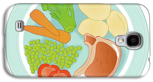Balanced Meal Galaxy S4 Case by Jeanette Engqvist