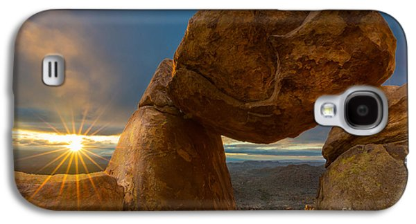 Epic Galaxy S4 Cases - Balanced Rock Galaxy S4 Case by Inge Johnsson
