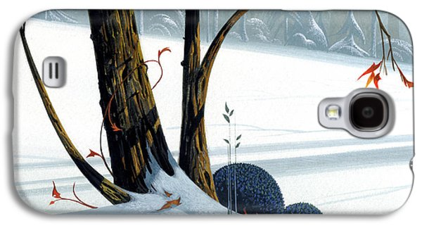 Winter Landscapes Galaxy S4 Cases - Balancing Act  Galaxy S4 Case by Michael Humphries