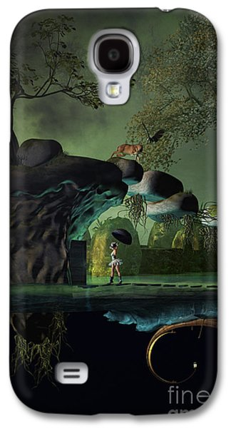 Angel Mermaids Ocean Galaxy S4 Cases - Balancing Life Galaxy S4 Case by Georgina Hannay