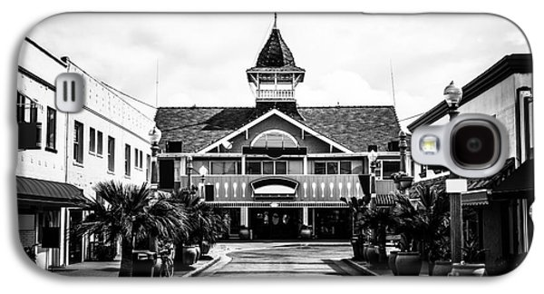 Business Galaxy S4 Cases - Balboa California Main Street Black and White Picture Galaxy S4 Case by Paul Velgos