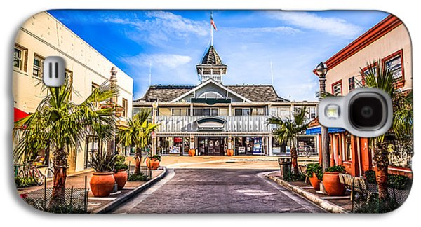 Main Street Galaxy S4 Cases - Balboa Main Street in Newport Beach Picture Galaxy S4 Case by Paul Velgos