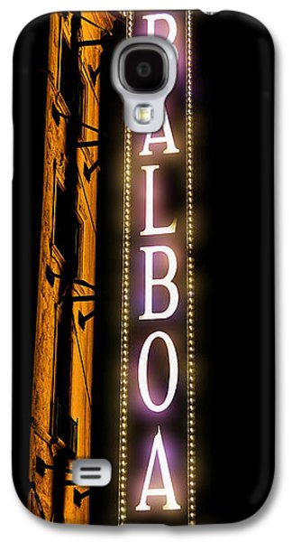 Gas Lamp Photographs Galaxy S4 Cases - Balboa Theater Galaxy S4 Case by Stephen Stookey