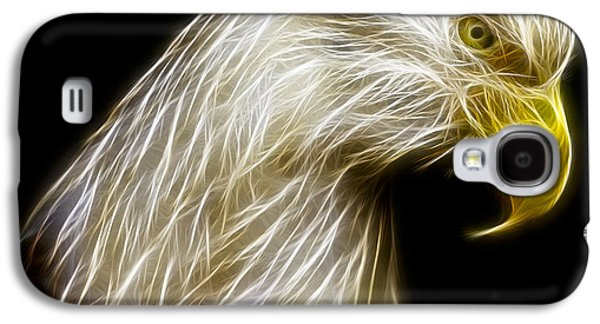 Abstract Digital Photographs Galaxy S4 Cases - Bald Eagle Fractal Galaxy S4 Case by Adam Romanowicz