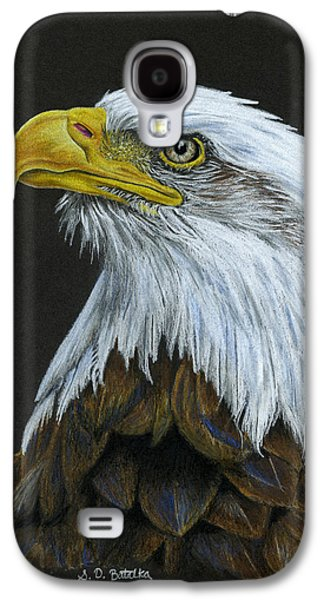 Bald Eagle Galaxy S4 Case by Sarah Batalka