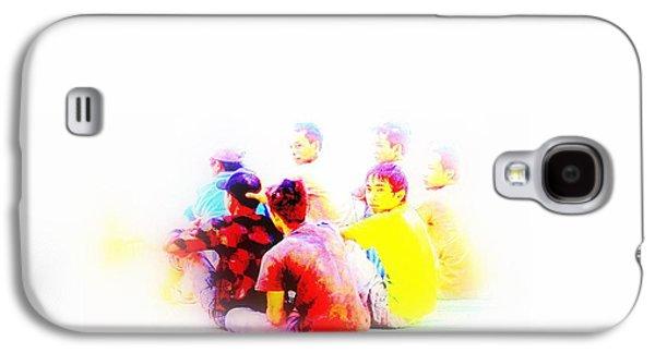 Balinese Men's Reunion Galaxy S4 Case by Funkpix Photo Hunter