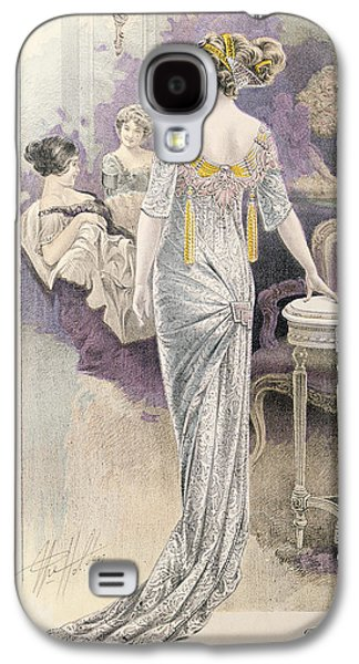 Ball Gown Galaxy S4 Cases - Ball Gown Galaxy S4 Case by French School