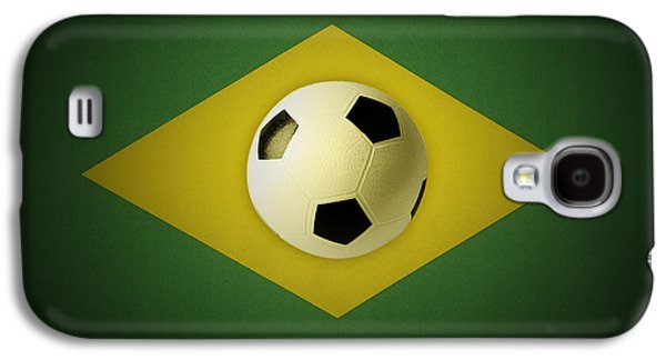 Sports Photographs Galaxy S4 Cases - Ball on flag Galaxy S4 Case by Les Cunliffe