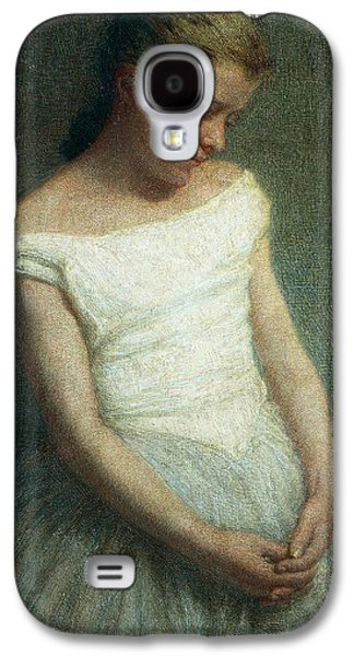 Tutus Paintings Galaxy S4 Cases - Ballerina female dancer Galaxy S4 Case by Angelo Morbelli