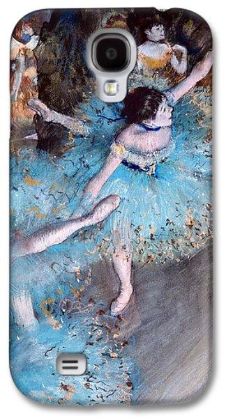 Ballerina On Pointe  Galaxy S4 Case by Edgar Degas