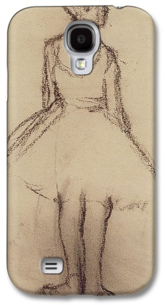 Ballerina Viewed From The Back  Galaxy S4 Case by Edgar Degas