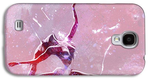 Ballet Dancers Digital Art Galaxy S4 Cases - Ballet Art Galaxy S4 Case by Stefan Kuhn