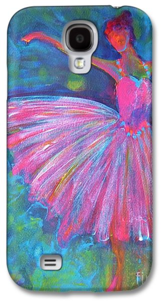 Image Paintings Galaxy S4 Cases - Ballet Bliss Galaxy S4 Case by Deb Magelssen