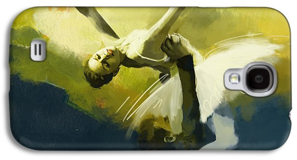 Liberty Paintings Galaxy S4 Cases - Ballet Dancer Galaxy S4 Case by Corporate Art Task Force