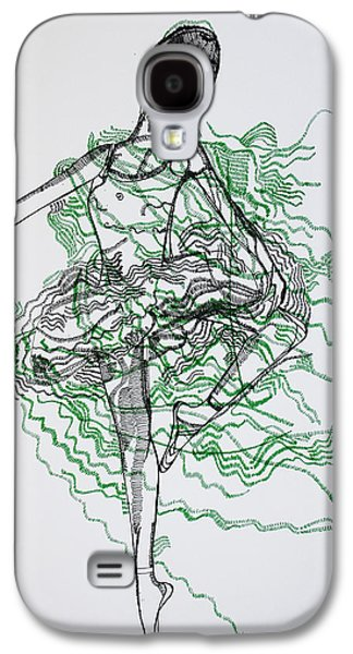 African-american Drawings Galaxy S4 Cases - Ballet Galaxy S4 Case by Gloria Ssali
