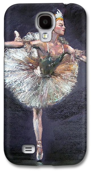 Ballet Dancers Pastels Galaxy S4 Cases - Ballet Galaxy S4 Case by Jieming Wang