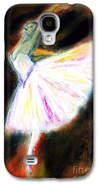Ballet Dancers Pastels Galaxy S4 Cases - Ballet Galaxy S4 Case by Michael Cross