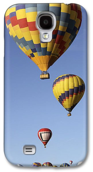 Hot Air Balloon Galaxy S4 Cases - Balloon Fiesta 2012 Galaxy S4 Case by Mike McGlothlen