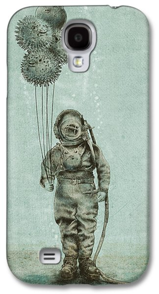 Balloons Galaxy S4 Cases - Balloon Fish Galaxy S4 Case by Eric Fan