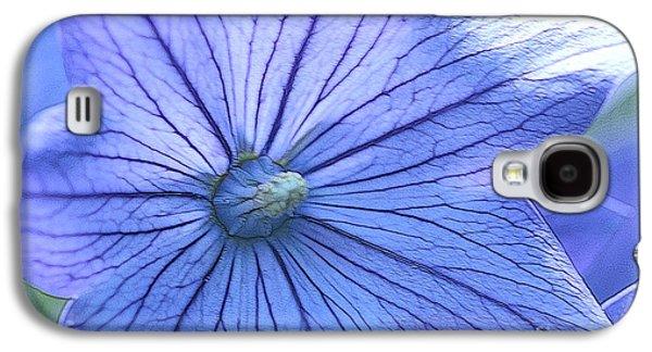 Balloon Flower Galaxy S4 Cases - Balloon Flower Enhanced Galaxy S4 Case by Corey Ford