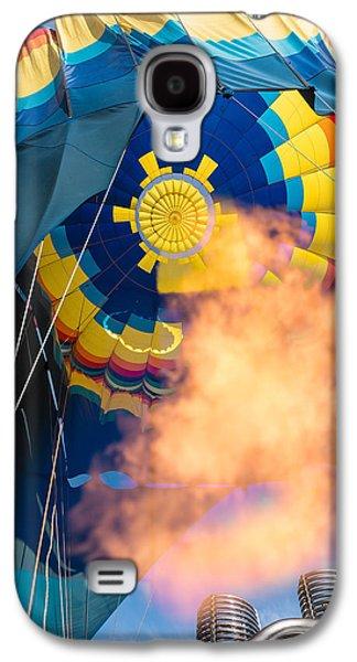 Napa Photographs Galaxy S4 Cases - Balloon Rising Galaxy S4 Case by Steve Gadomski