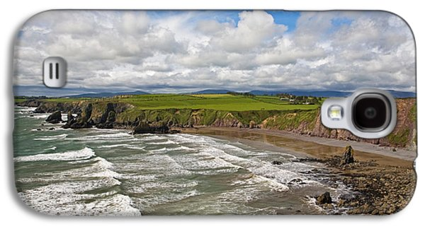 Farmscape Galaxy S4 Cases - Ballydowane Cove On The Copper Coast Galaxy S4 Case by Panoramic Images