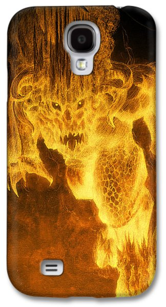 Balrog Of Morgoth Galaxy S4 Case by Curtiss Shaffer