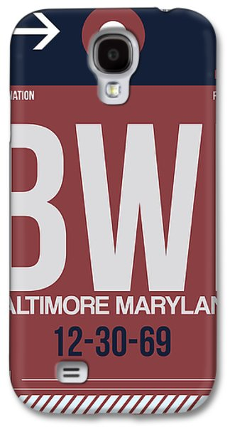 Baltimore Galaxy S4 Cases - Baltimore Airport Poster 2 Galaxy S4 Case by Naxart Studio