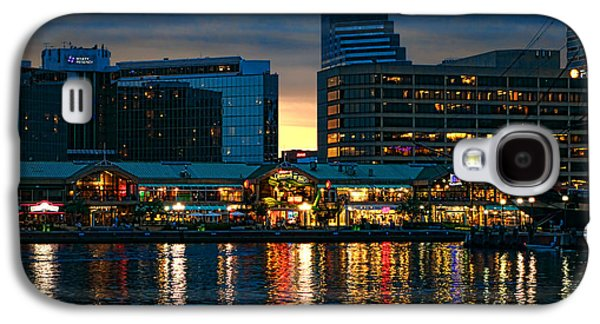 Historic Ship Galaxy S4 Cases - Baltimore Harborplace Light Street Pavilion Galaxy S4 Case by Olivier Le Queinec