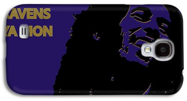 Baltimore Ravens Ya Mon Galaxy S4 Case by Joe Hamilton