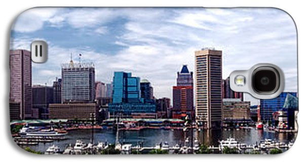 Business Galaxy S4 Cases - Baltimore Skyline - Generic Galaxy S4 Case by Olivier Le Queinec