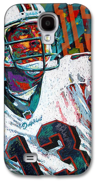 League Galaxy S4 Cases - Bambino dOro Dan Marino Galaxy S4 Case by Maria Arango