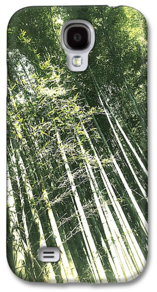 Nature Abstract Galaxy S4 Cases - Bamboo Abstract Galaxy S4 Case by Yen